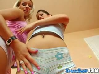Sperm Swap Hardcore Cum Fans are Adorable yet Hungry for