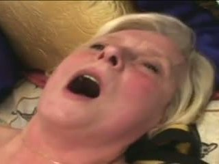 Granny Marketa Pleasures Herself On Her Tiger Bed