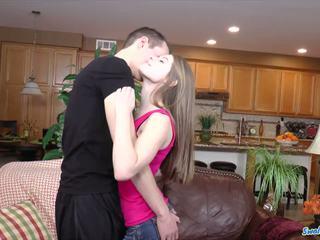 امرأة سمراء حار, تحقق شاب, hq الجنس عن طريق الفم أكثر