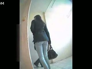 Russian Woman Toilet Video