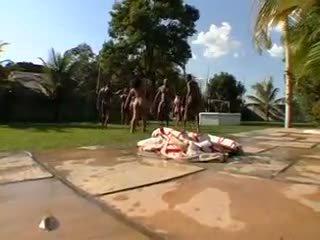 Big Bubble Butt Brazilian Orgy 6- CD1