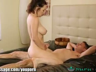 Nurumassage panterona matrigna gets sons cazzo