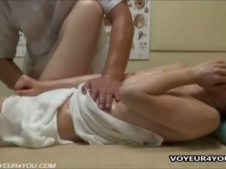 Pussy Massage Treatment Voyeur Scene