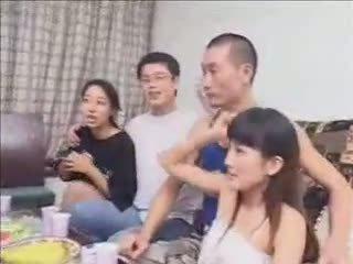 समूह सेक्स, पत्नी, hardsextube, चीनी