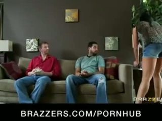 Horny brunette big-tit wife cheats on husband with a real estate