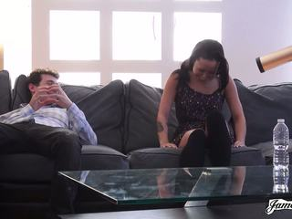 Jamesdeen Com - Petite Black Amateur in Casting Couch