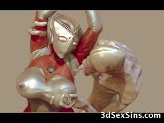 3d aliens e monsters cazzo ragazze!
