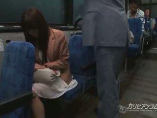 Chikan scopata su autobus