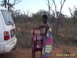 Divé africké safari sex orgia, zadarmo divé sex hd porno 33