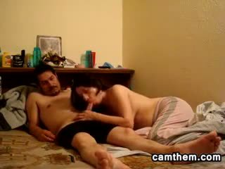 Horny Married Couple Having Sex