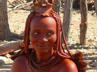 Nigerian naturale africano ragazza