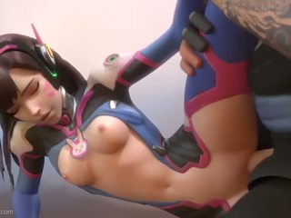 DVA in Overwatch have sex