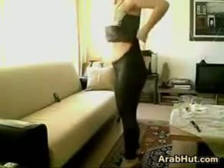 Arab Girl Dancing And Getting Fucked