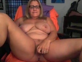 Horny Mom: Webcam & Masturbation Porn Video a3