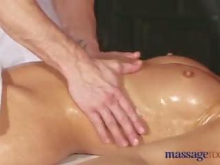 Massage Rooms Juicy ass blonde fucks big cock stud