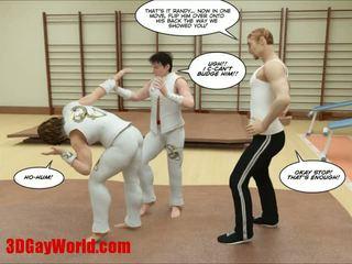 Kung fu guys 3d gay cartoni animated comics
