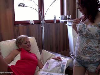 Mom Teaching Girl True Lesbian Love, Free Porn 8a