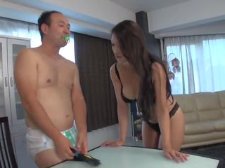 brunette, japanese see, see close up hot