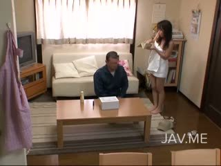 일본의, 핥기, 작은 가슴