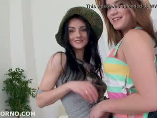 Double addicted 3 on 2, crystal greenvelle & evelina darling dap/cumswapping/atm/atom. 0%pussy g
