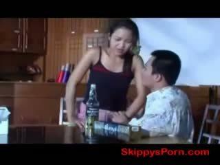 Thai girl gets fucked