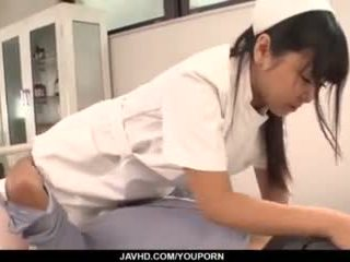 Perfect Asian Threesome With Curvy Ass Nurse Yu Shinohara