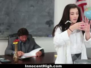 InnocentHigh - Hot Girl Fucked In Chemistry Lab by Teacher <span class=duration>- 10 min</span>