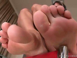 Sexy këmbë dhe nxehtë seks përmbledhje