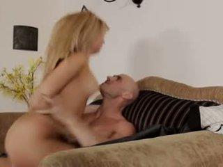 γεμάτος κολπική sex πλέον, κάθε καυκάσιος διασκέδαση, cum shot