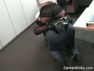 सेक्सी किनकी carmen spanks और rides उसकी part6
