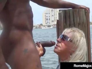 mature granny interracial