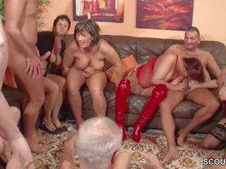 group sex, old+young, gangbang