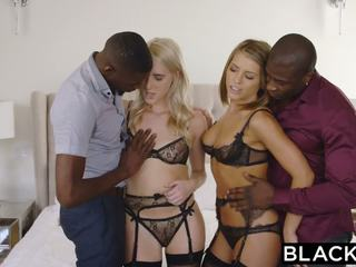 BLACKED Adriana And Cadence First Interracial