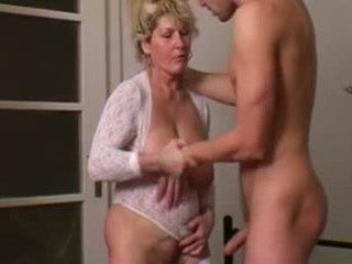 Mature Mother's Desire Comes True