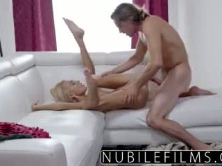Nubilefilms - Fucking My Bosses Daughter Janice Griffith