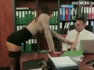 Office Babe Alexis Brill Gets Her Sweet Pussy Screwed Good
