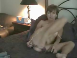 Hot Mature Toying Both Holes, Free Amateur Porn Video 98
