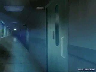ザ· leggy 看護師 gets 肛門 と プッシー toyed