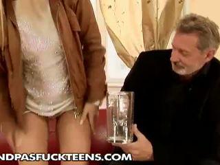 Sabrinka fucked by horny grandpa