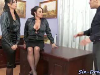 Glam Office Babes Cumswap