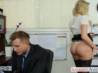 סקסי משרד בייב mia malkova מזיין