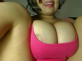big boobs, masturbation, latin