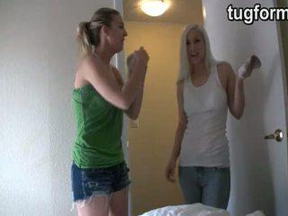Sister と ブロンド busting あなた jacking オフ jo instructions