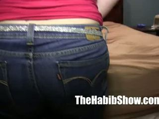 thicke pawg white girl banged by hairy arab