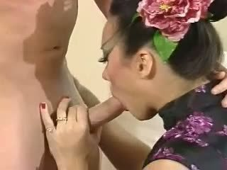 Asia Carrera - Fucked on couch blowjob cumshot