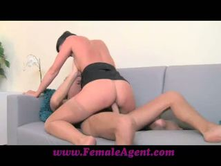 FemaleAgent MILF with amazing cowgilr skills
