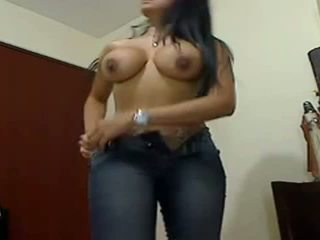 Sexy Huge Boobed Huge Ass Gf Teasing