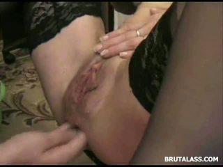 orgasm, shaved pussy, insertion