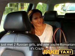 FakeTaxi Smokin hot Romanian makes my cock look good