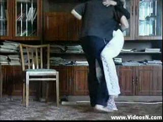 Mother undresses infront of son